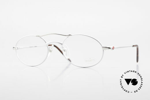 Bugatti 26540 Men's 90's Luxury Eyeglasses Details