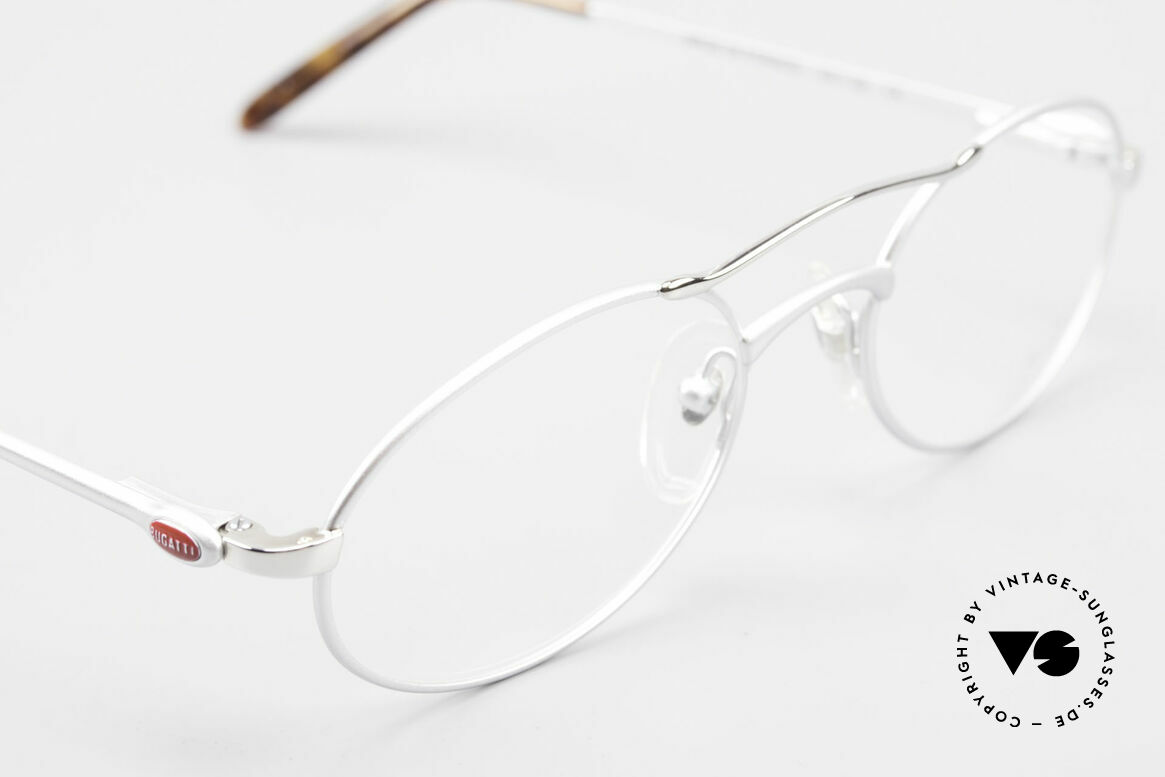 Bugatti 26540 Men's 90's Luxury Eyeglasses, unworn (like all our rare vintage BUGATTI frames), Made for Men