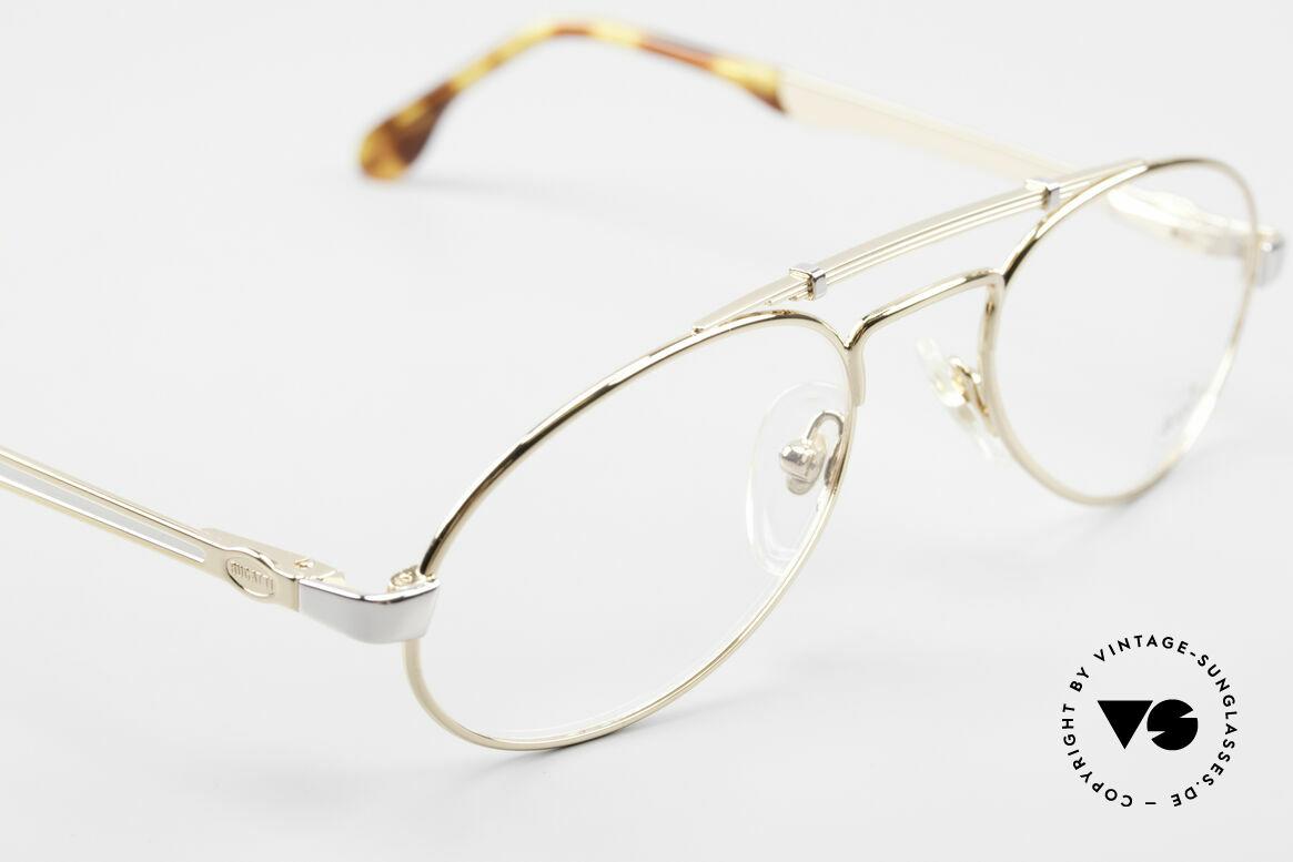 Bugatti 16908 Gold Plated 80's Eyeglasses