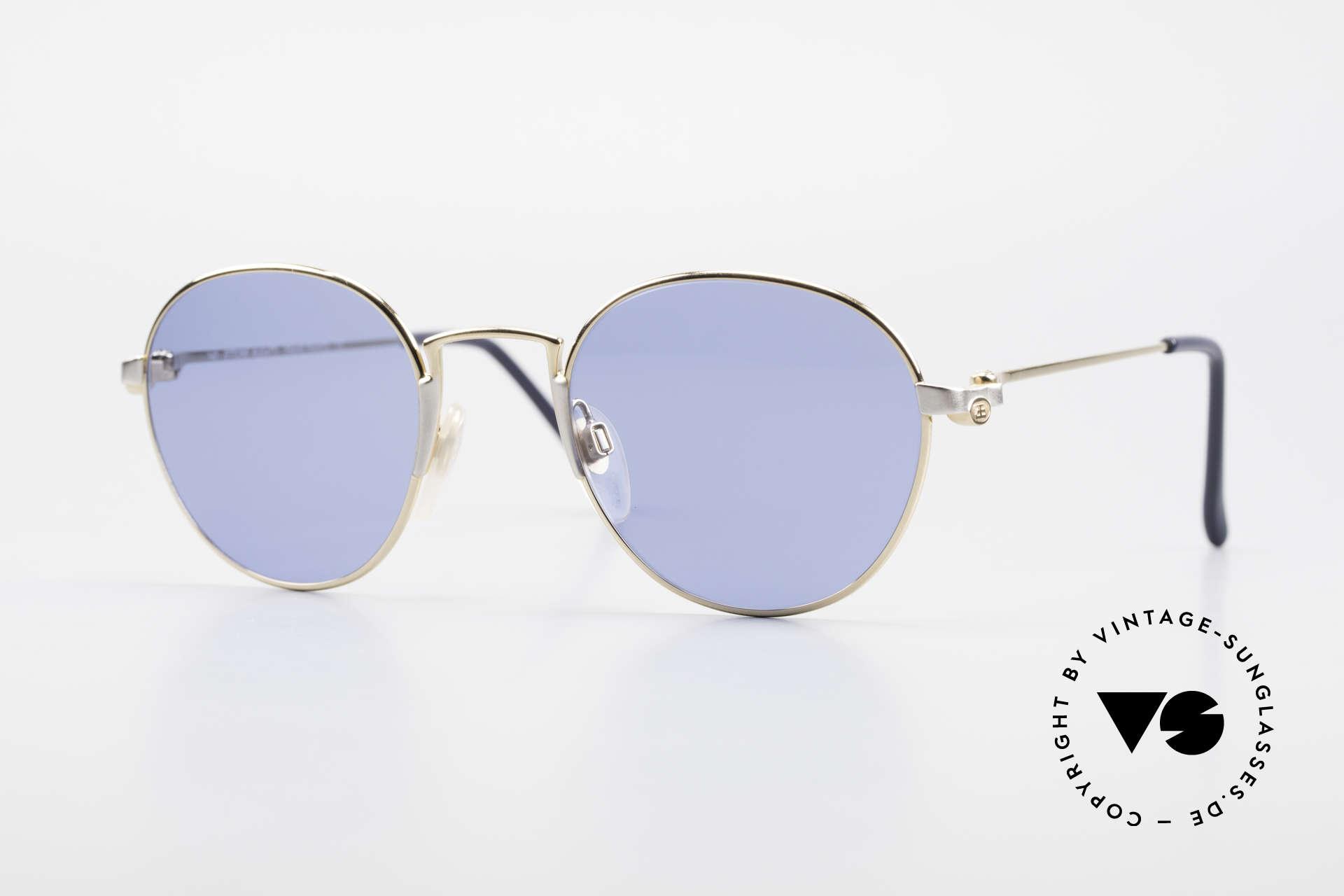 Bugatti EB600 Luxury Bugatti Panto Glasses, rare Bugatti Panto designer sunglasses M size 49/21, Made for Men