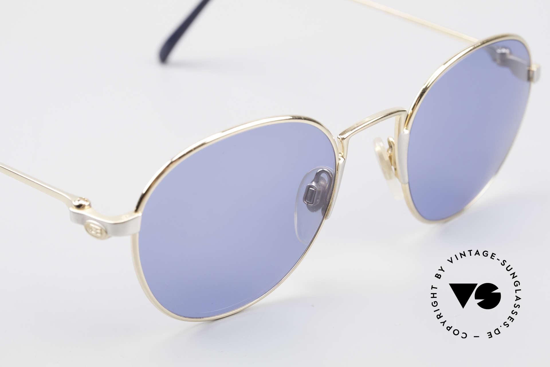 Bugatti EB600 Luxury Bugatti Panto Glasses, unworn (like all our rare vintage Bugatti sunglasses), Made for Men