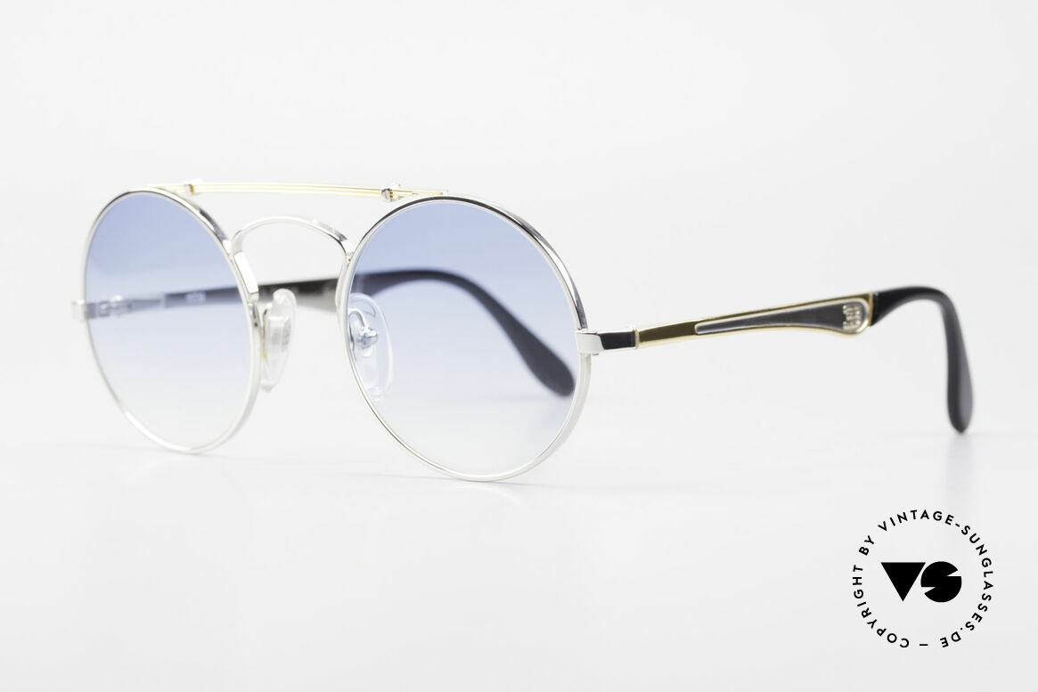 Bugatti 11709 80's Luxury Sunglasses Round, a ROUND Bugatti frame is incredible hard to find!, Made for Men