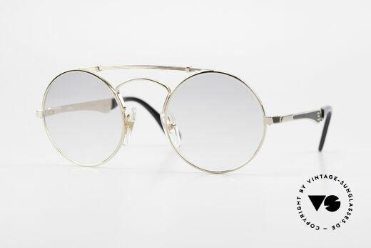 Bugatti 11711 Small Round Luxury Sunglasses Details