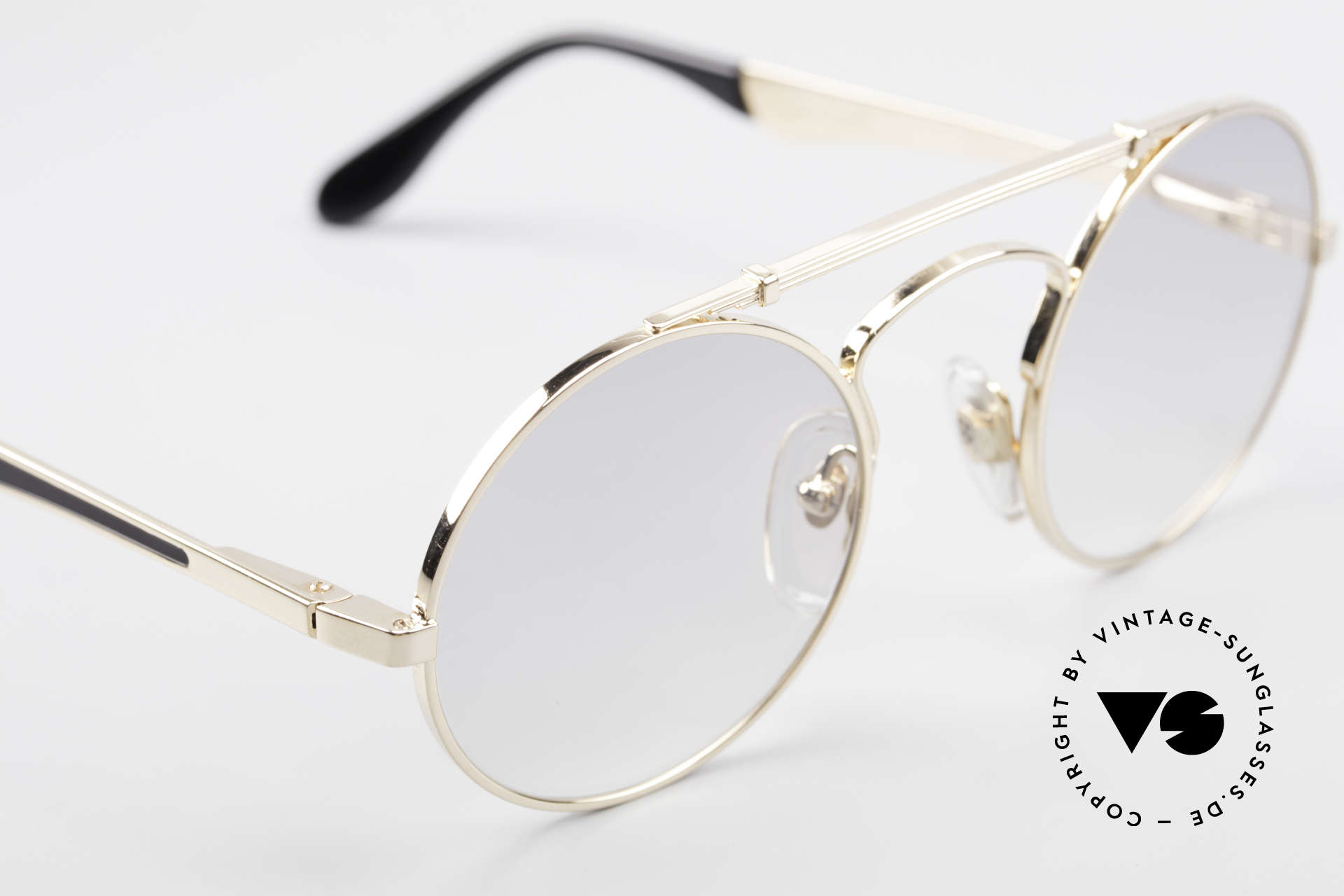 Bugatti 11711 Small Round Luxury Sunglasses, UNWORN model, one of a kind, (with orig. packing), Made for Men