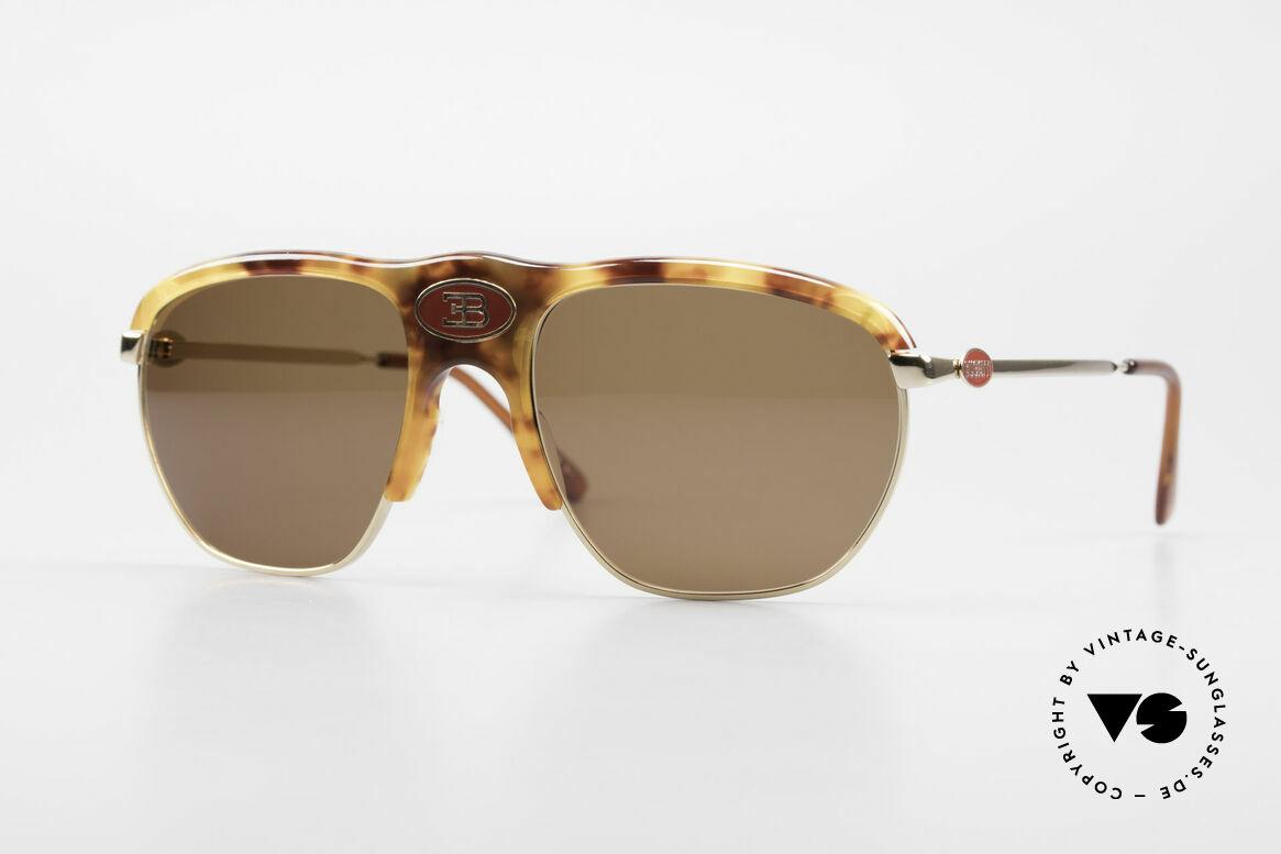 Bugatti 65218 Rare Old 70's Bugatti Glasses, precious Bugatti vintage luxury sunglasses for men, Made for Men