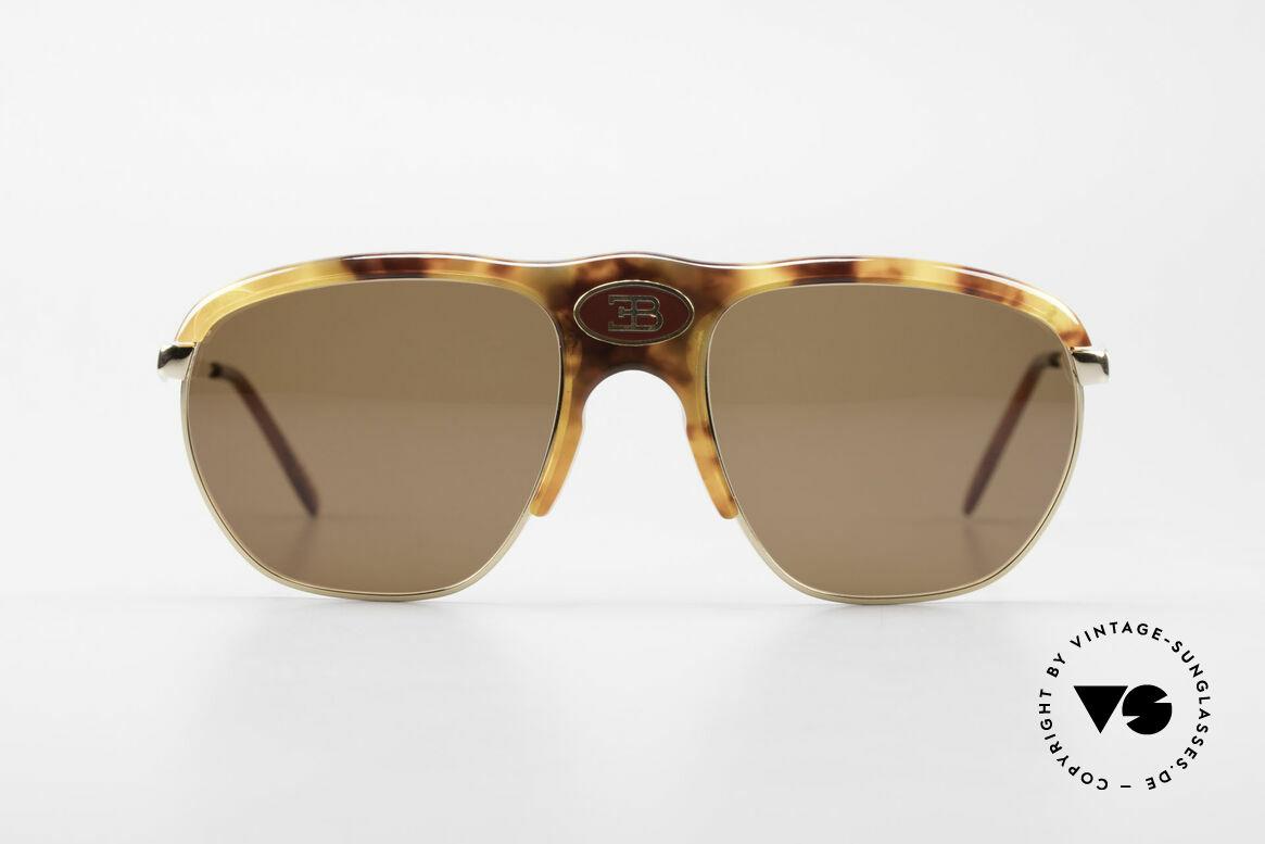 Bugatti 65218 Rare Old 70's Bugatti Glasses, noble tortoise-optic (true rarity from the late 70's), Made for Men