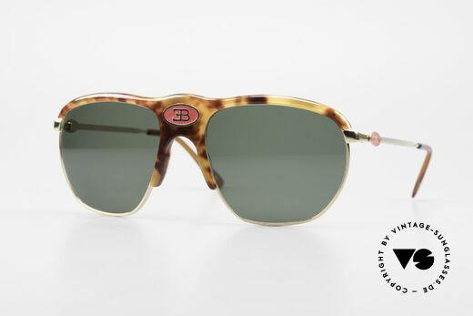 Bugatti 65218 Rare 70's Bugatti Sunglasses Details