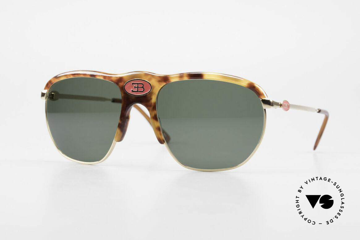 Bugatti 65218 Rare 70's Bugatti Sunglasses, precious Bugatti vintage luxury sunglasses for men, Made for Men