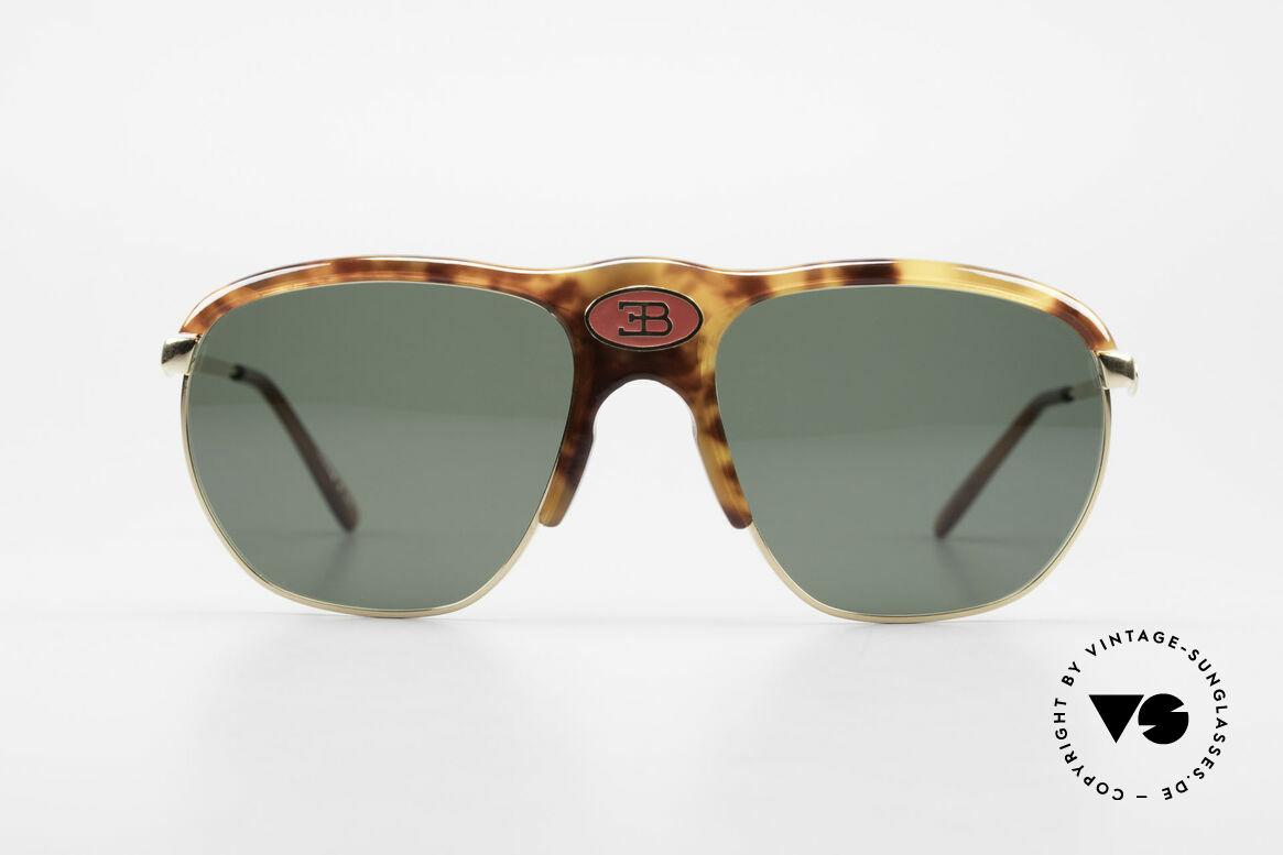 Bugatti 65218 Rare 70's Bugatti Sunglasses, noble tortoise-optic (true rarity from the late 70's), Made for Men