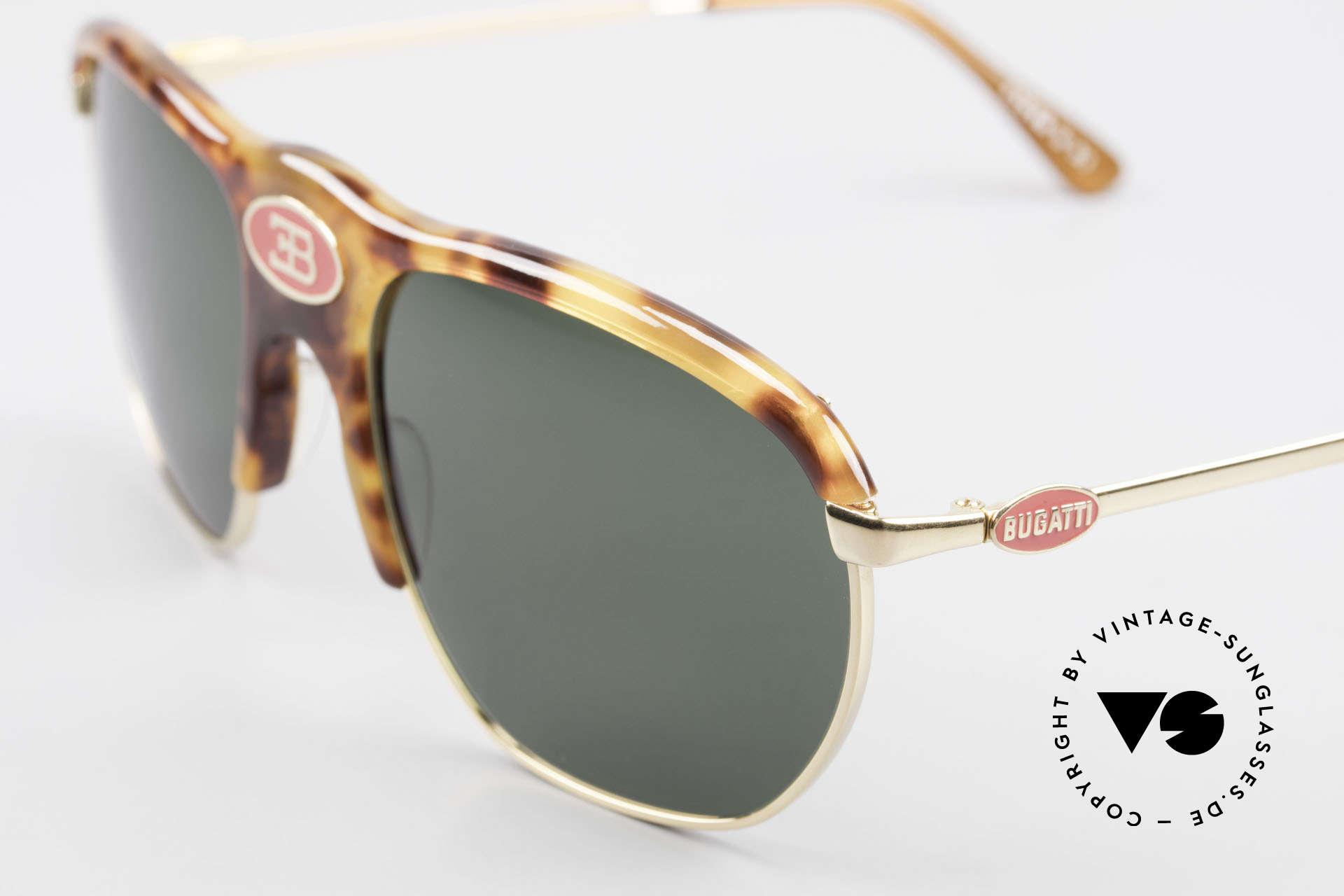 Bugatti 65218 Rare 70's Bugatti Sunglasses, much sought-after collector's item (museum piece), Made for Men