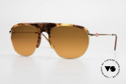 Bugatti 65219 Extraordinary 70's Sunglasses Details