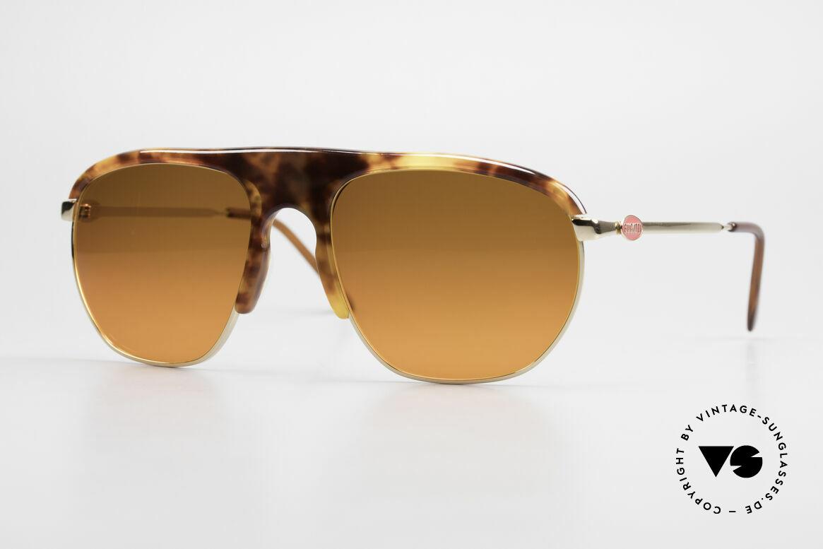 Bugatti 65219 Extraordinary 70's Sunglasses, extraordinary Bugatti VINTAGE luxury sunglasses, Made for Men