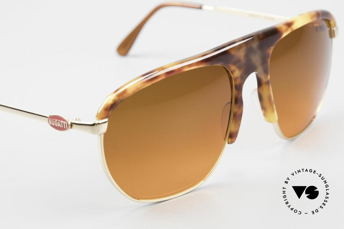 Bugatti 65219 Extraordinary 70's Sunglasses, new old stock (like all our old Bugatti ORIGINALS), Made for Men