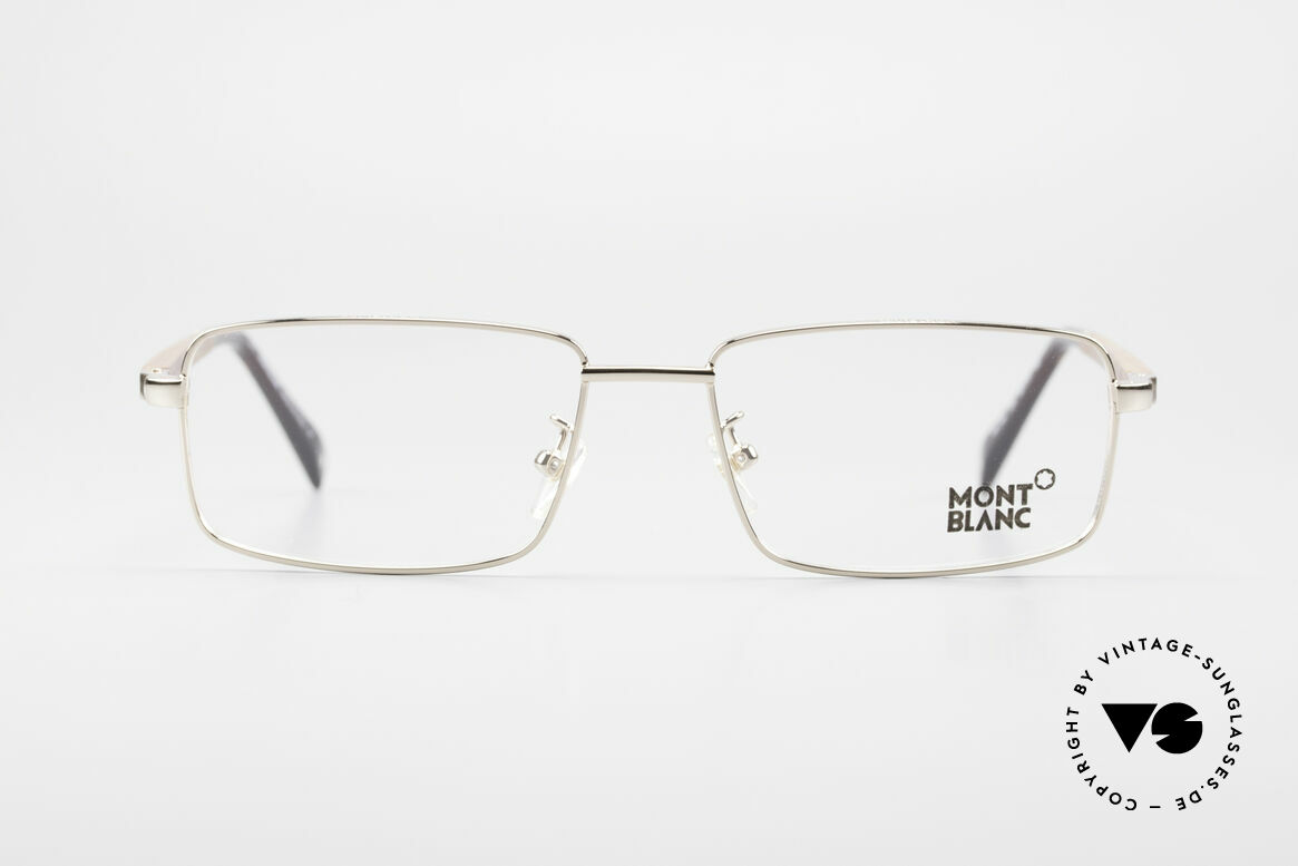 Montblanc MB389 Gold-Plated Wood Glasses Men, top-notch craftsmanship with flexible spring hinges, Made for Men