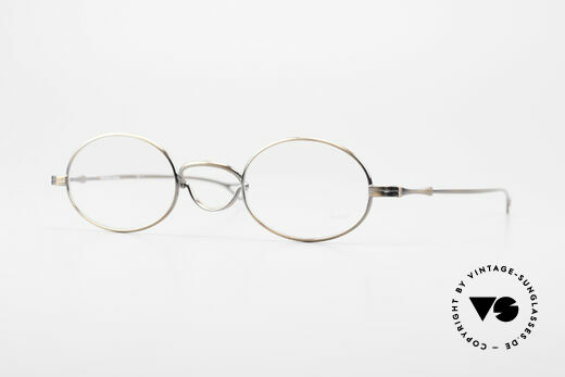 Lunor Swing Oval Swing Bridge Vintage Glasses Details
