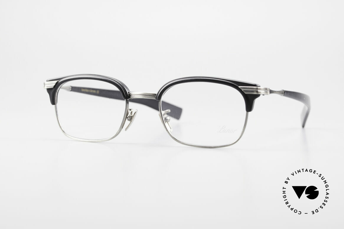 "Lunor M92 Striking Vintage Glasses Small, Lunor: shortcut for French ""Lunette d'Or"" (gold glasses), Made for Men"