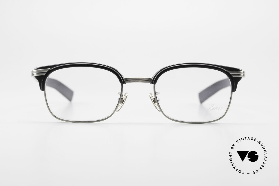 Lunor M92 Striking Vintage Glasses Small, traditional German brand; quality handmade in Germany, Made for Men