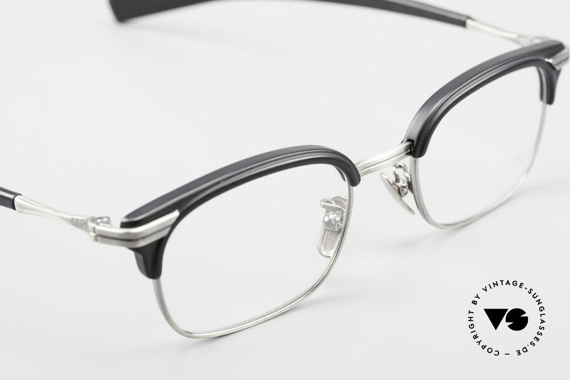 Lunor M92 Striking Vintage Glasses Small, striking men's glasses with costly Titanium nose pads, Made for Men