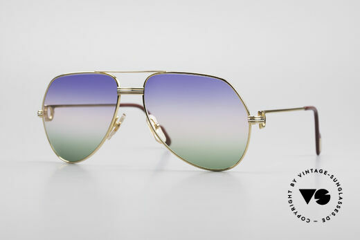 Cartier Vendome LC - M Michael Douglas Sunglasses Details