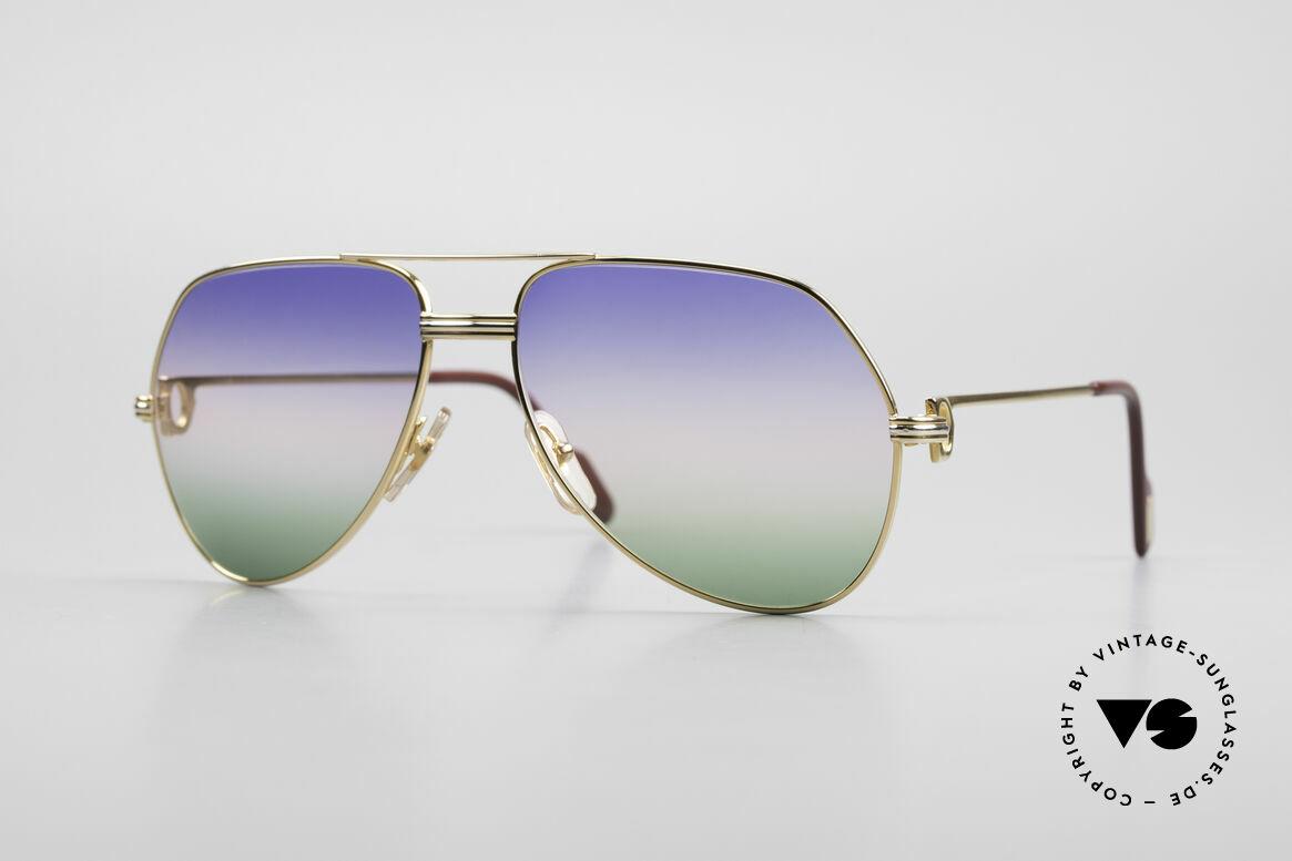 Cartier Vendome LC - M Michael Douglas Sunglasses, Vendome = the most famous eyewear design by CARTIER, Made for Men
