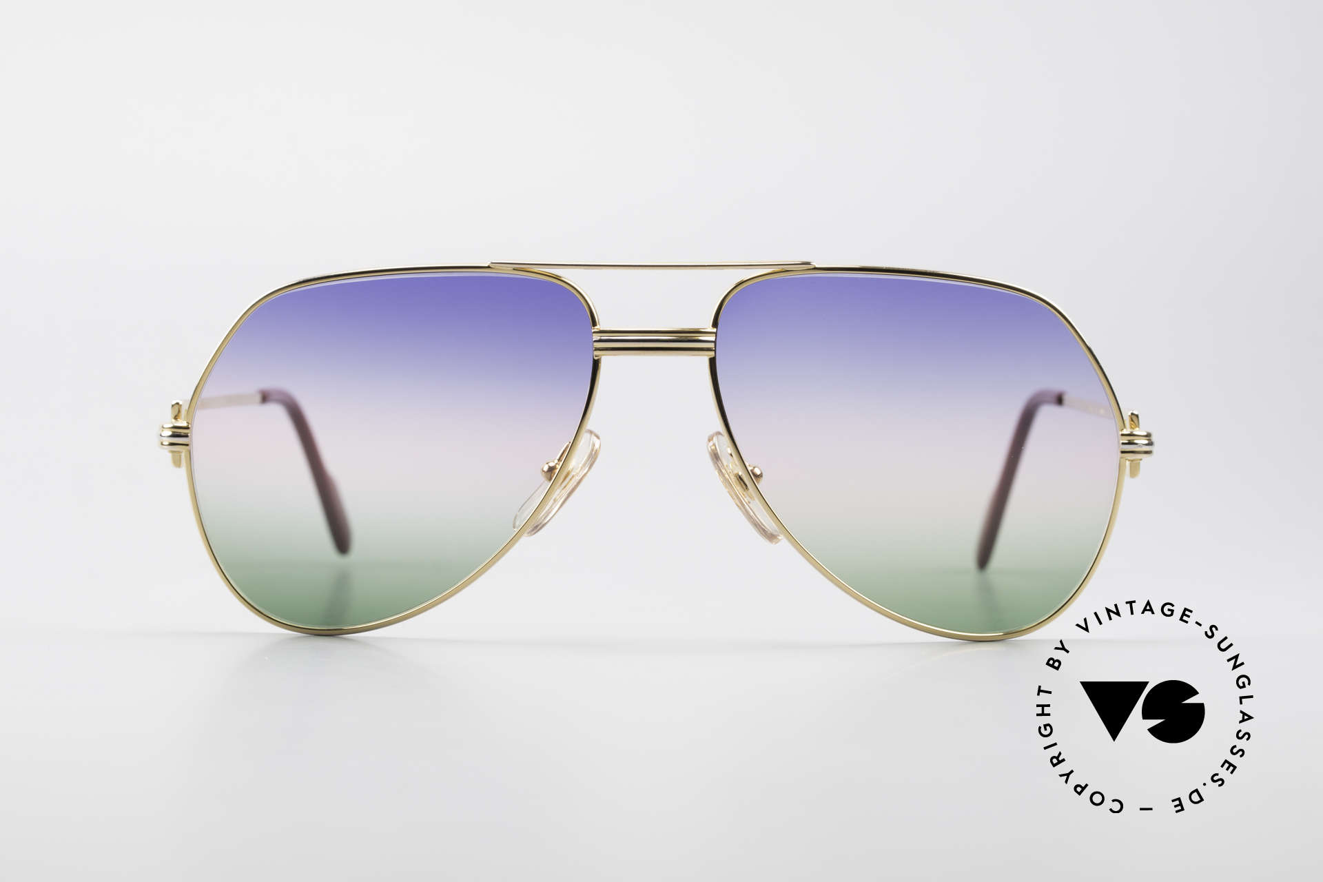 "Cartier Vendome LC - M Michael Douglas Sunglasses, mod. ""Vendome"" was launched in 1983 & made till 1997, Made for Men"