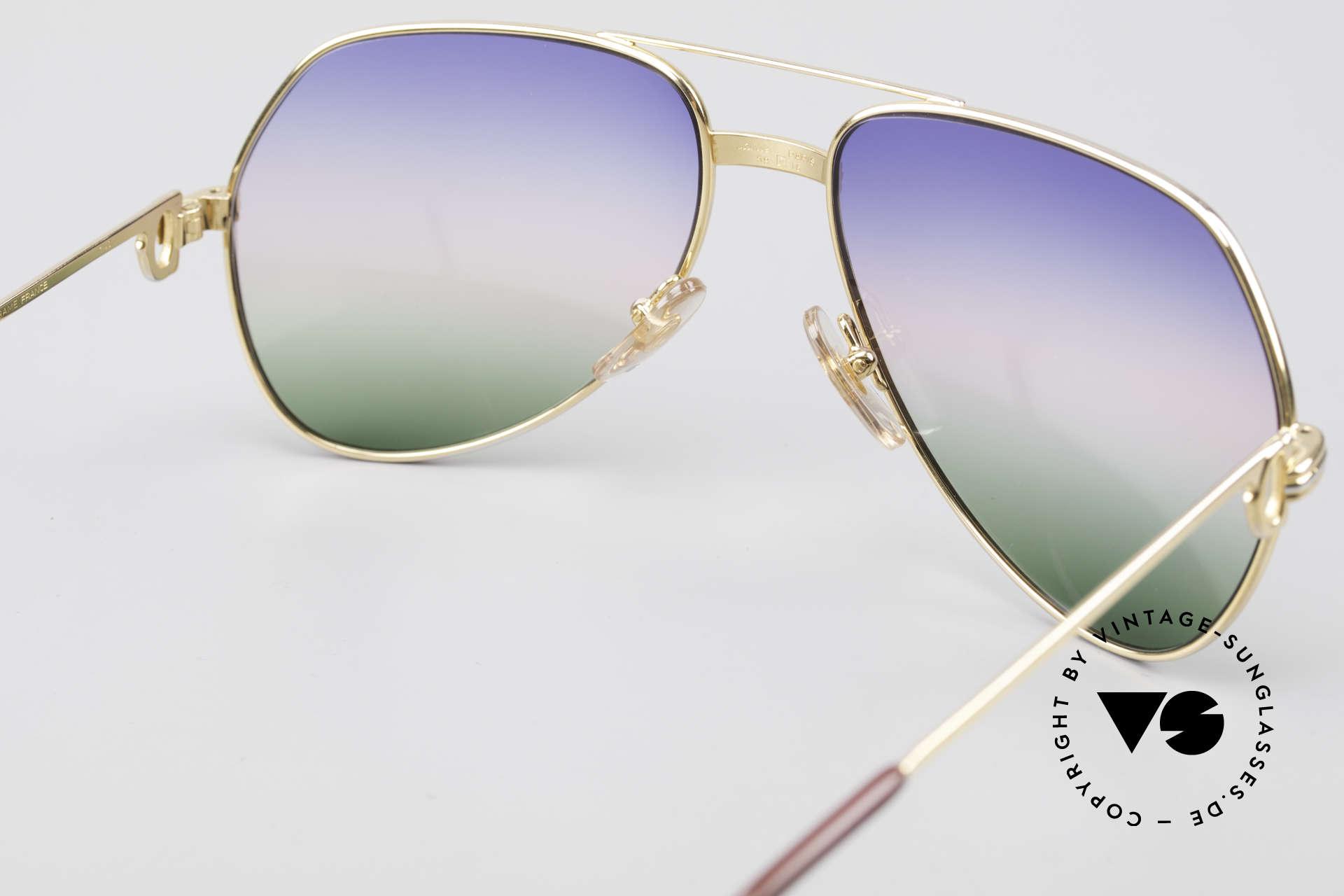 Cartier Vendome LC - M Michael Douglas Sunglasses, 2nd hand model, but in mint condition + CARTIER BOX, Made for Men