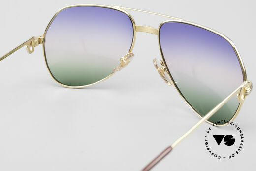 Cartier Vendome LC - M Michael Douglas Sunglasses, 2nd hand model, but in mint condition + CARTIER BOX, Made for Men