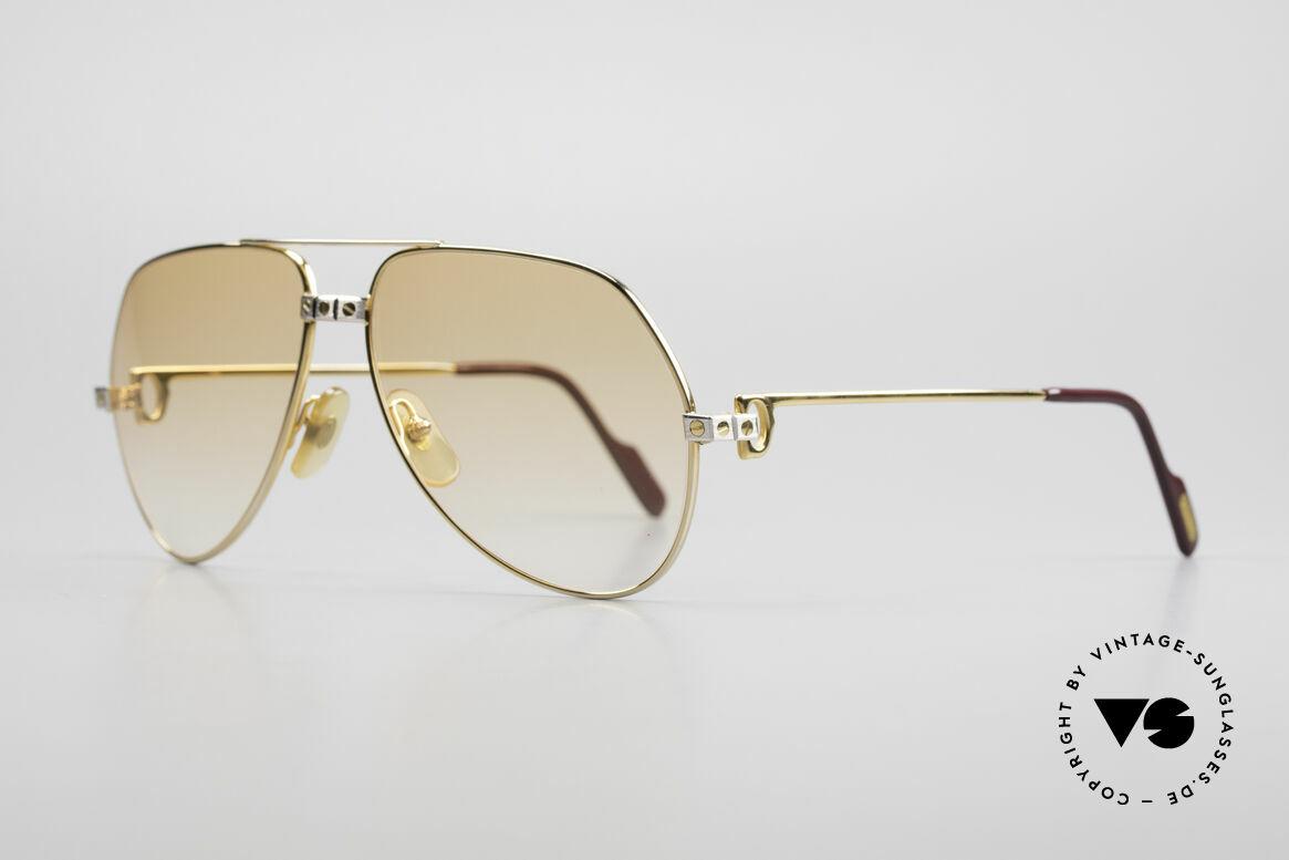 Cartier Vendome Santos - M Luxury 80's Aviator Shades
