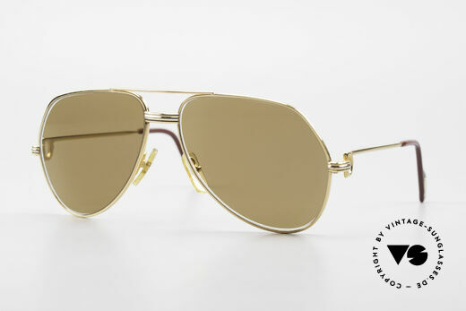 Cartier Vendome LC - M Non Reflecting Mineral Lenses Details
