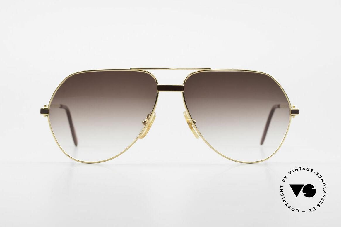 Cartier Vendome Laque - L Luxury Aviator Sunglasses