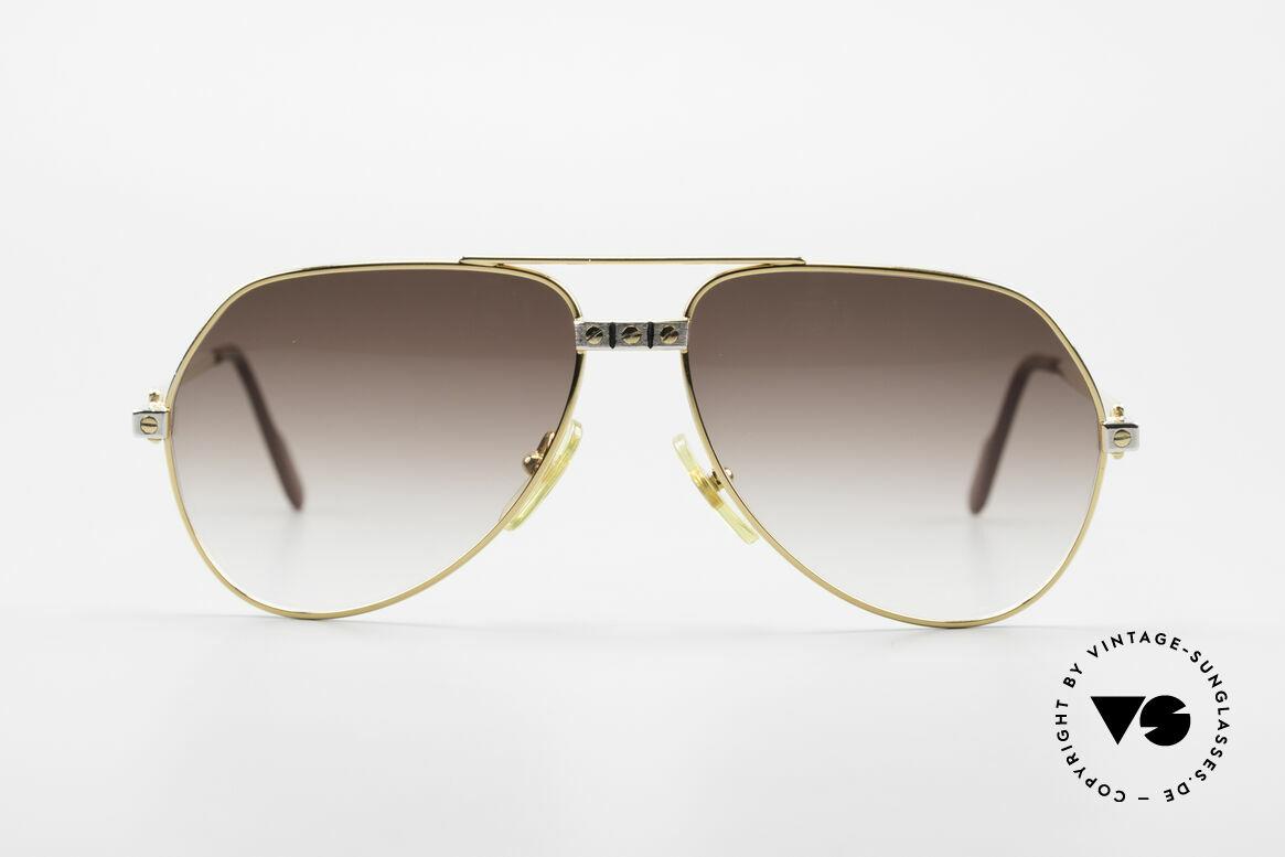 Cartier Vendome Santos - S Rare 80's Aviator Sunglasses
