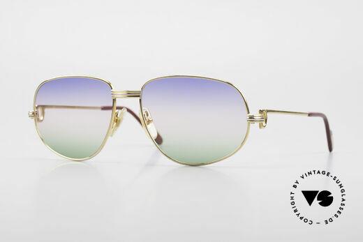 Cartier Romance LC - M Rare 80's Designer Sunglasses Details