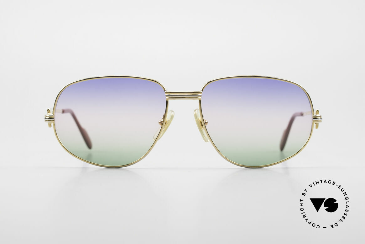 """Cartier Romance LC - M Rare 80's Designer Sunglasses, mod. """"Romance"""" was launched in 1986 and made till 1997, Made for Men and Women"""