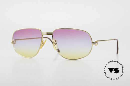Cartier Romance LC - L Luxury Sunglasses Gucci Case Details