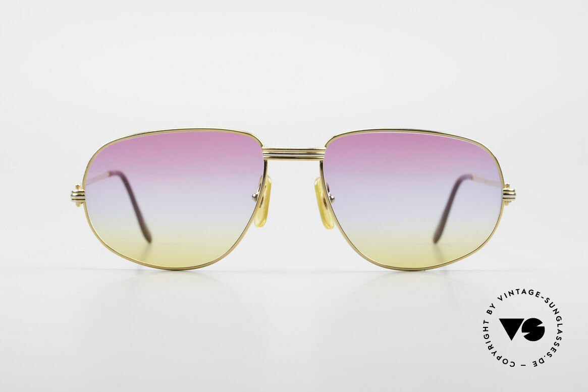 "Cartier Romance LC - L Luxury Designer Sunglasses, mod. ""Romance"" was launched in 1986 and made till 1997, Made for Men and Women"