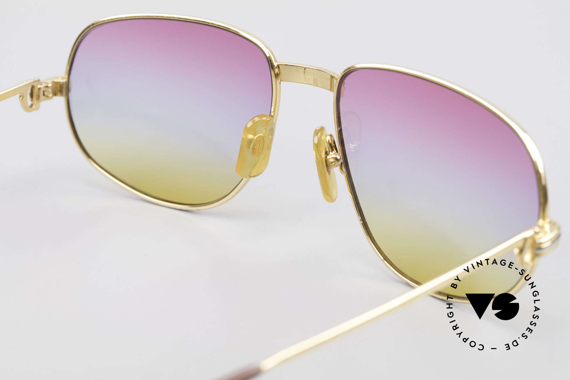 Cartier Romance LC - L Luxury Designer Sunglasses, NO RETRO eyewear; a rare 30 years old vintage ORIGINAL!, Made for Men and Women