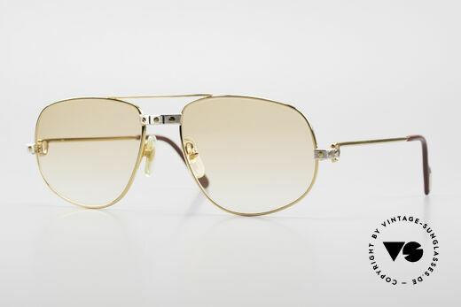 Cartier Romance Santos - L Luxury Vintage Sunglasses Details