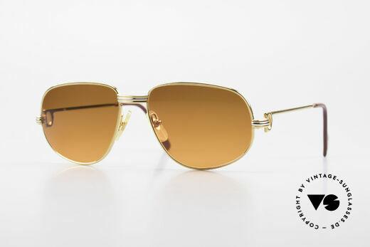 Cartier Romance LC - S Luxury Designer Sunglasses Details