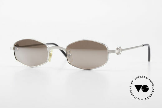 Cartier Ginger Luxury Shades Silver Mirrored Details