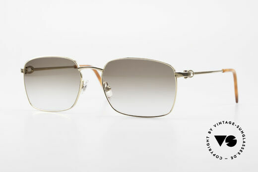 Cartier C-Decor Metal Classic Men's Luxury Glasses Details