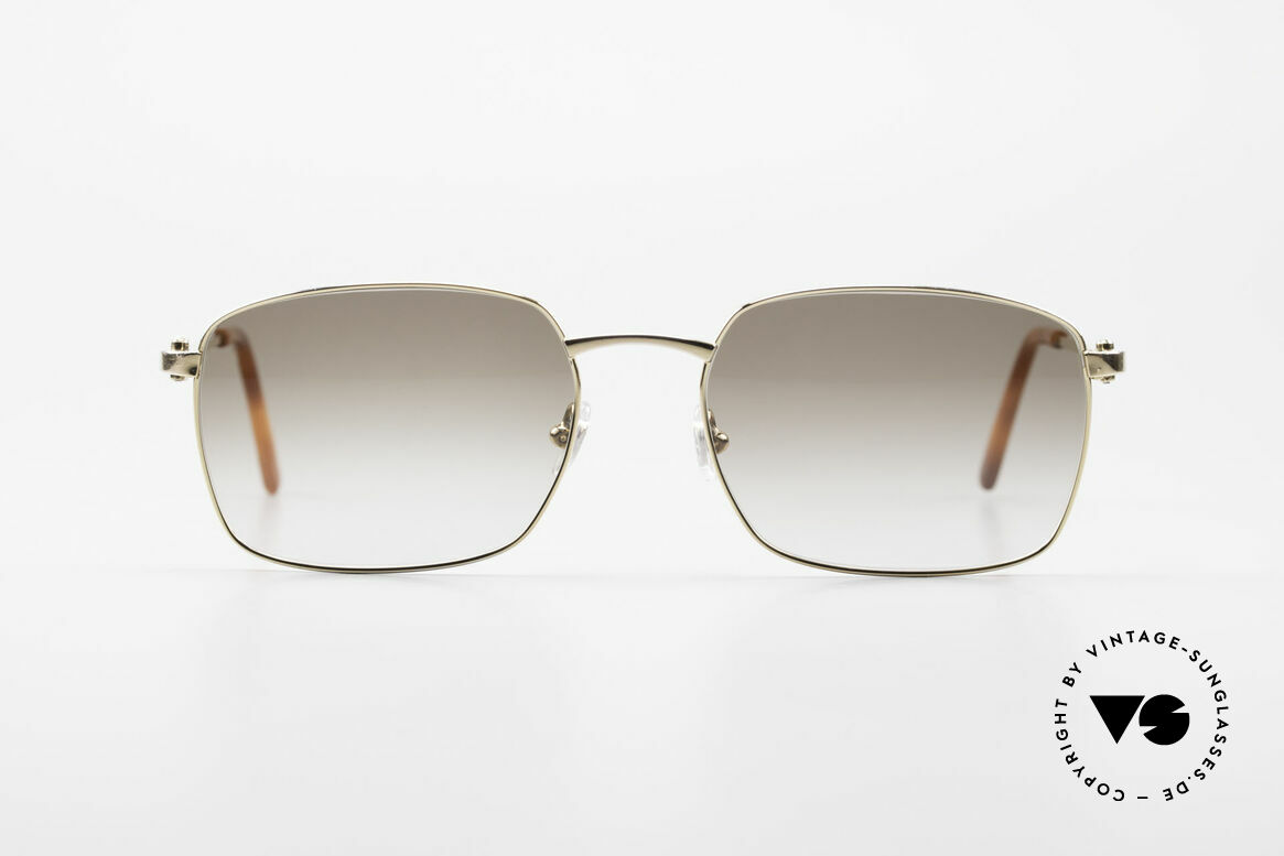 Cartier C-Decor Metal Classic Men's Luxury Glasses