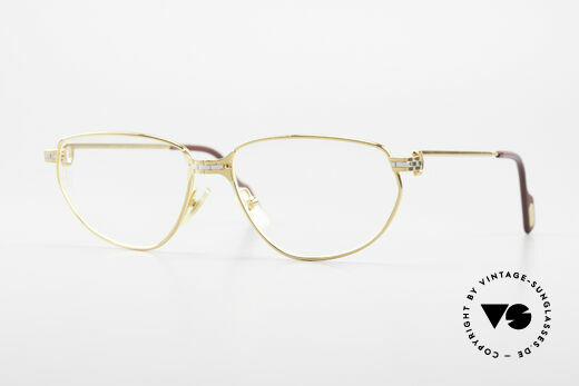 Cartier Panthere Windsor - S Old Eyeglasses 1990's Luxury Details