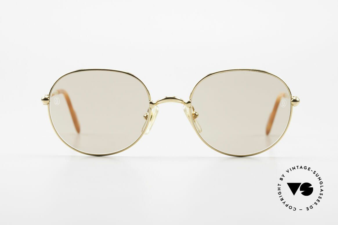 Cartier Antares Round 90's Luxury Sunglasses