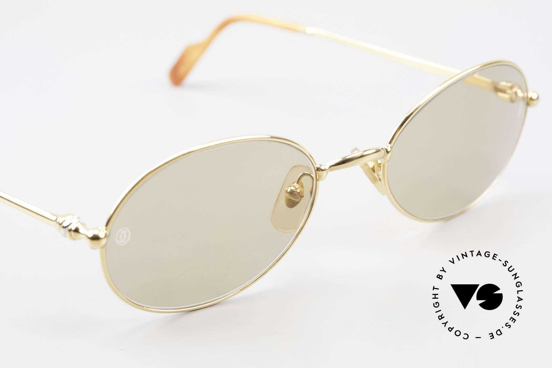 Cartier Saturne - L Oval 90's Luxury Sunglasses, 2nd hand, but in absolutely mint condition; scratch-free, Made for Men and Women