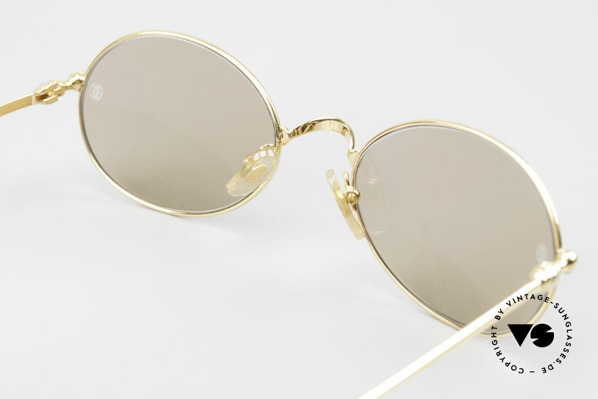 Cartier Saturne - L Oval 90's Luxury Sunglasses