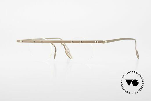 Theo Belgium Tita VII 9 Vintage Titanium Eyeglasses Details