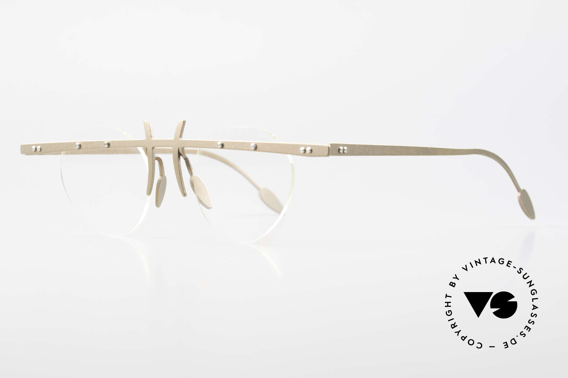 Theo Belgium Tita VI 9 Vintage Eyeglasses Titanium, TITA SERIES = L titanium frames by Theo from the 90's, Made for Men and Women