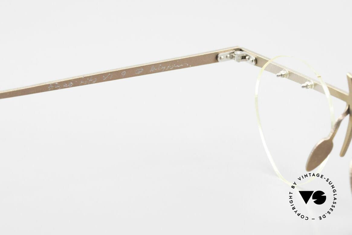 Theo Belgium Tita VI 9 Vintage Eyeglasses Titanium, an old, unworn THEO original and NO RETRO EYEWEAR, Made for Men and Women