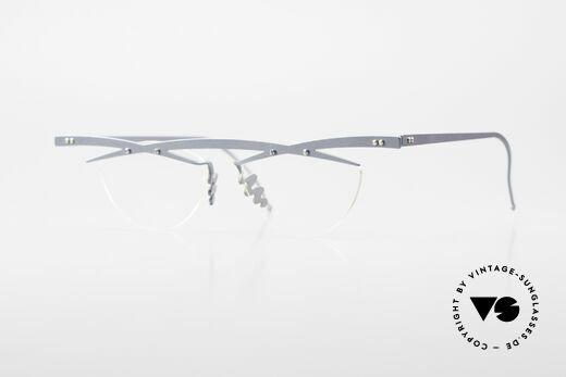 Theo Belgium Tita III 5 Crazy Vintage Glasses XL 90's Details