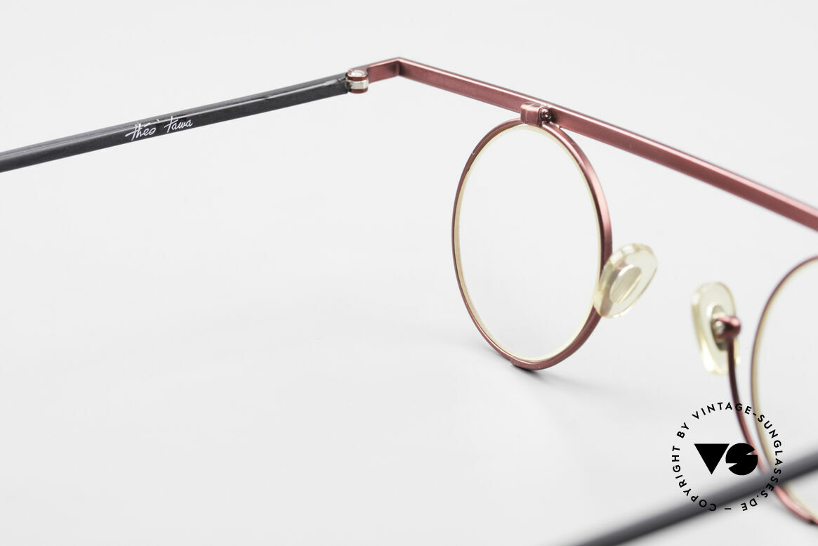 Theo Belgium Tawa Extraordinary Vintage Frame, unworn, one of a kind, Theo eyewear for all who dare ;), Made for Men and Women
